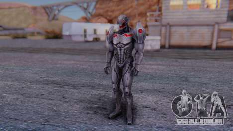 Marvel Future Fight - Ultron para GTA San Andreas segunda tela