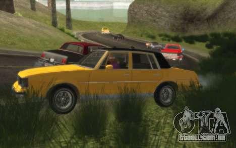 Situação de vida 4.0 para GTA San Andreas terceira tela