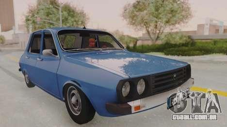 Dacia 1310 TX 1984 para GTA San Andreas traseira esquerda vista