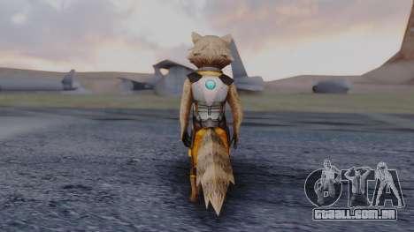 Marvel Future Fight - Rocket Raccon para GTA San Andreas terceira tela