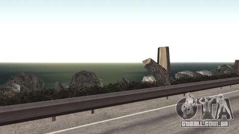 Road repair Dos Santos - Las Venturas. para GTA San Andreas décimo tela
