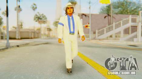 Michael Jackson - Smooth Criminal para GTA San Andreas segunda tela