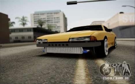 Elegy Speedhunters para GTA San Andreas vista superior