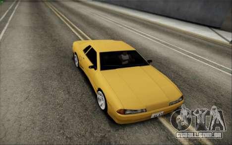 Elegy Speedhunters para GTA San Andreas traseira esquerda vista