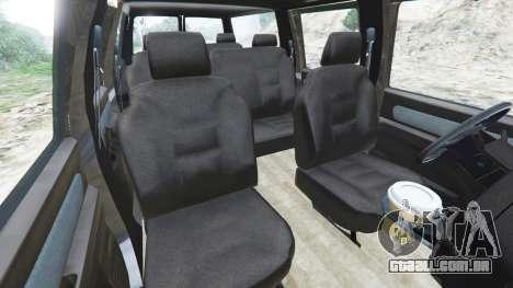 GTA 5 Chevrolet Suburban GMT400 vista lateral direita