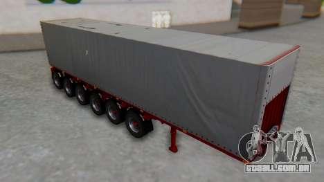 Trailer Colis Red para GTA San Andreas