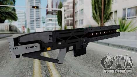 GTA 5 Railgun - Misterix 4 Weapons para GTA San Andreas segunda tela