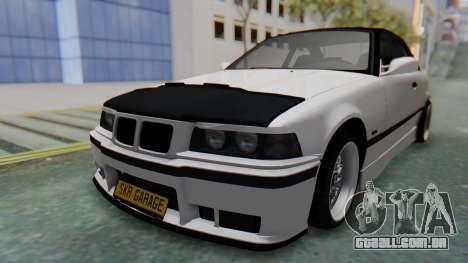 BMW 320i E36 MPower para GTA San Andreas vista direita