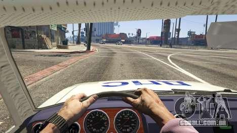 GTA 5 VAZ 2106 Polícia voltar vista