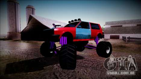 Club Monster Truck para vista lateral GTA San Andreas