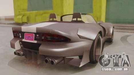 GTA 5 Bravado Banshee 900R Carbon para GTA San Andreas esquerda vista