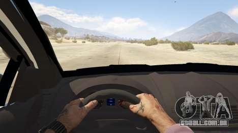 GTA 5 Unmarked Chevrolet Caprice voltar vista