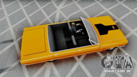 Savanna 2F2F Challenger PJ para GTA San Andreas esquerda vista