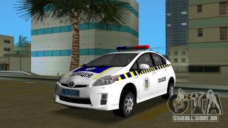 Toyota Prius Polícia Da Ucrânia para GTA Vice City