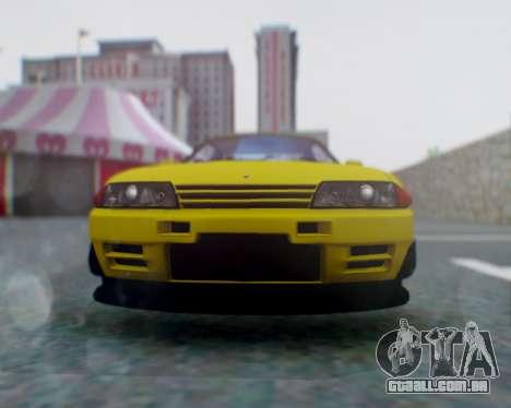Nissan Skyline R32 GTR para GTA San Andreas vista direita