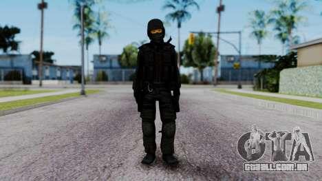 Black SWAT para GTA San Andreas segunda tela