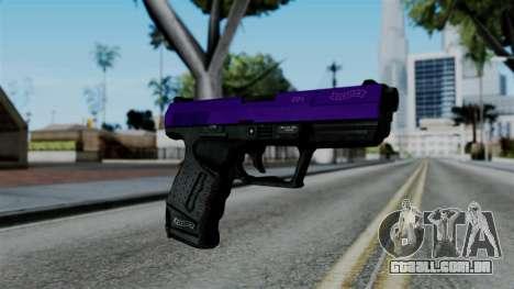 Purple Desert Eagle para GTA San Andreas