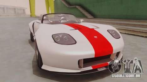 GTA 5 Bravado Banshee 900R IVF para GTA San Andreas vista direita