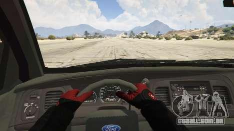 GTA 5 Ford Crown Victoria Detective voltar vista