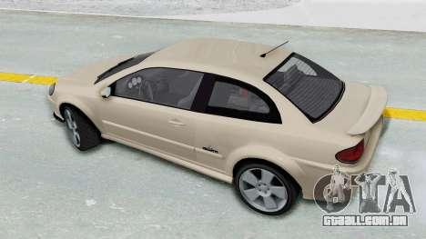 GTA 5 Declasse Premier IVF para GTA San Andreas traseira esquerda vista