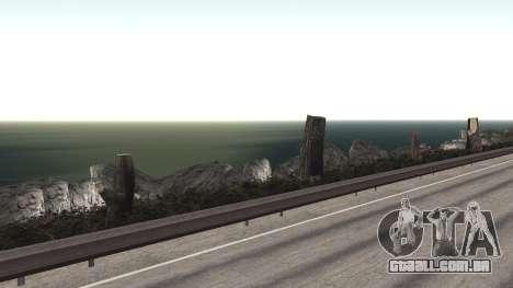 Road repair Dos Santos - Las Venturas. para GTA San Andreas nono tela