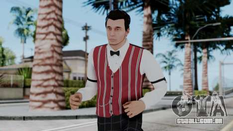 Be My Valentine DLC Male Skin para GTA San Andreas
