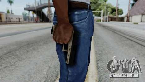 Glock 18 Sand Frame para GTA San Andreas terceira tela