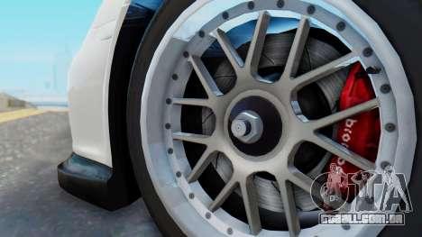 Porsche 911 GT3 Cup para GTA San Andreas vista direita