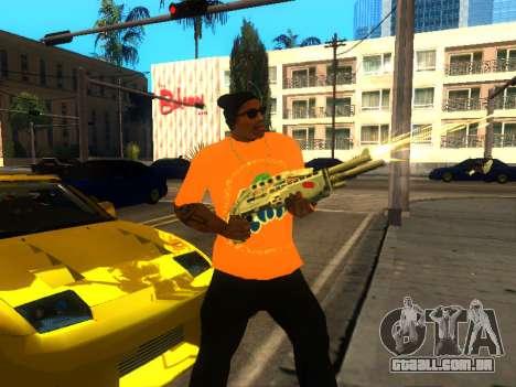 T-Shirt Fanta para GTA San Andreas terceira tela