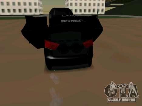 Lada Vesta 2016 para GTA San Andreas vista direita