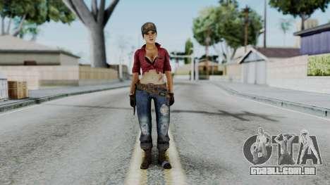 Misty - CoD Black Ops para GTA San Andreas segunda tela