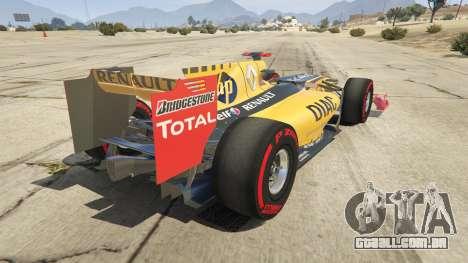 Renault F1 para GTA 5