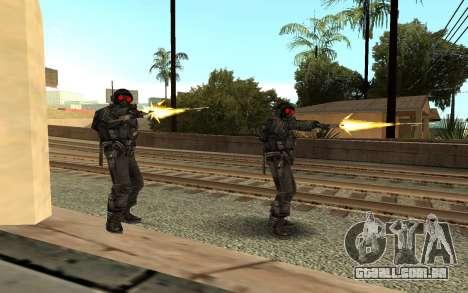 Swat from GTA Criminal Russia para GTA San Andreas segunda tela