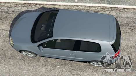 GTA 5 Volkswagen Golf Mk5 GTI 2006 v1.0 voltar vista