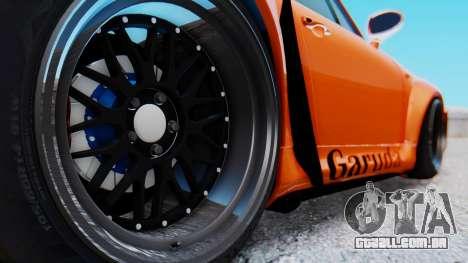Porsche 993 GT2 RWB GARUDA para GTA San Andreas vista traseira