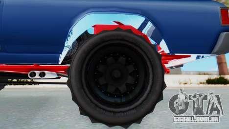GTA 5 Cheval Picador BAJA Truck para GTA San Andreas traseira esquerda vista