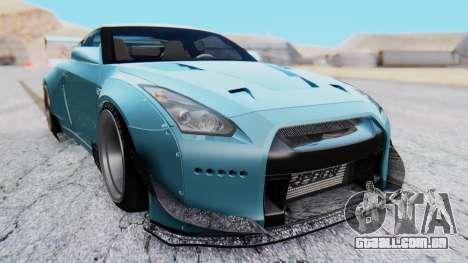 Nissan GT-R R35 Rocket Bunny v2 para GTA San Andreas vista direita
