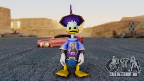 Kingdom Hearts 1 Donald Duck Disney Castle para GTA San Andreas segunda tela