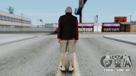 Hunter Costume Michael para GTA San Andreas terceira tela