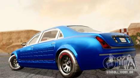 GTA 5 Enus Cognoscenti L Arm para GTA San Andreas esquerda vista