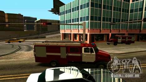 ZIL-5301 para GTA San Andreas vista traseira