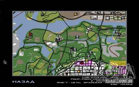 Situação de vida 4.0 para GTA San Andreas quinto tela