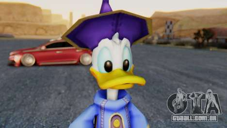 Kingdom Hearts 1 Donald Duck Disney Castle para GTA San Andreas