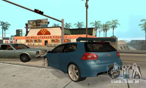 VW Golf R32 para GTA San Andreas vista direita