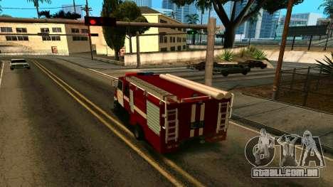 ZIL-5301 para GTA San Andreas traseira esquerda vista