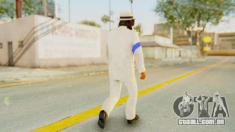 Michael Jackson - Smooth Criminal para GTA San Andreas terceira tela