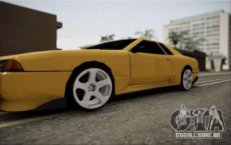 Elegy Speedhunters para GTA San Andreas vista direita