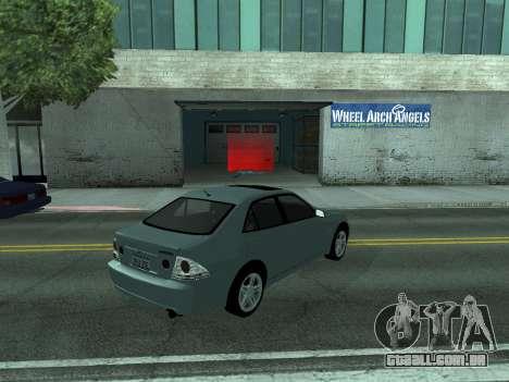 Toyota Altezza Tunable para GTA San Andreas esquerda vista