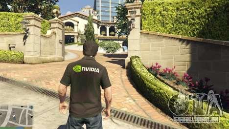 GTA 5 Nvidia camisa Polo para Michael segundo screenshot