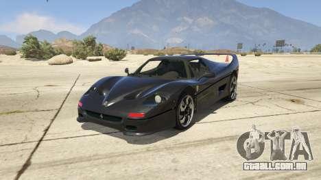 Ferrari F50 Autovista para GTA 5